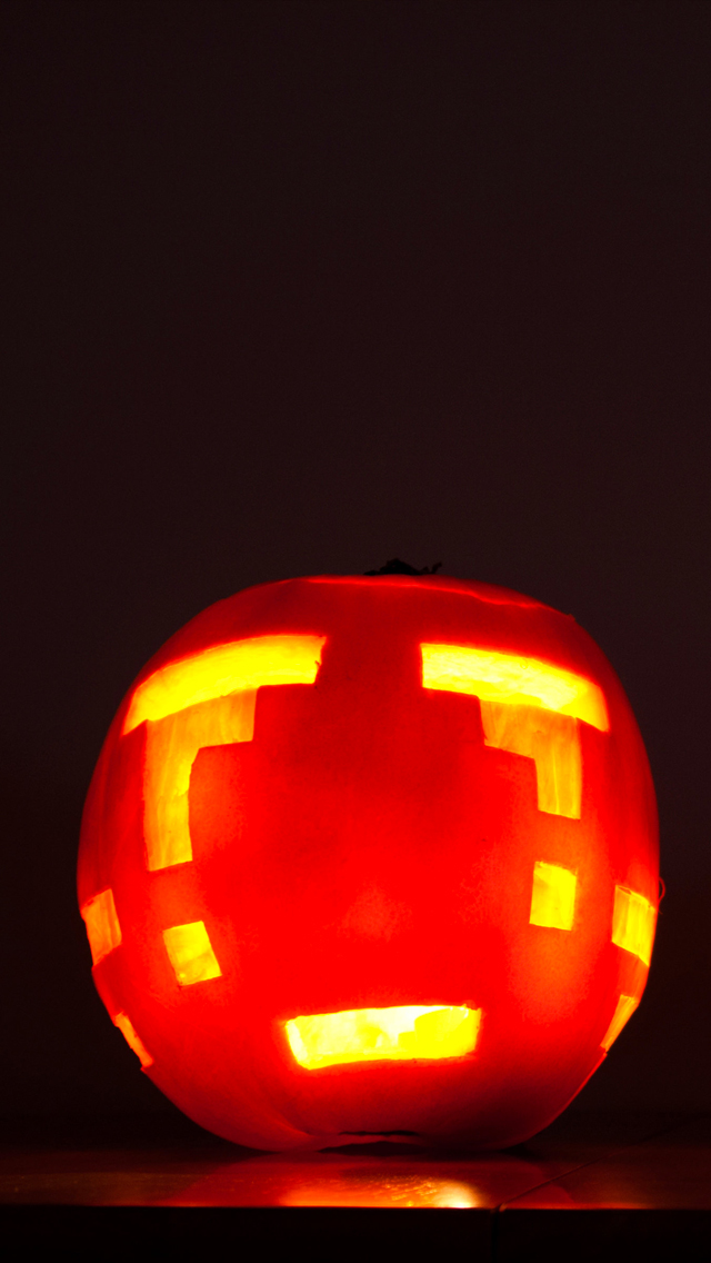 Pixels-Pumpkins-Halloween-3Wallpapers-iPhone-5