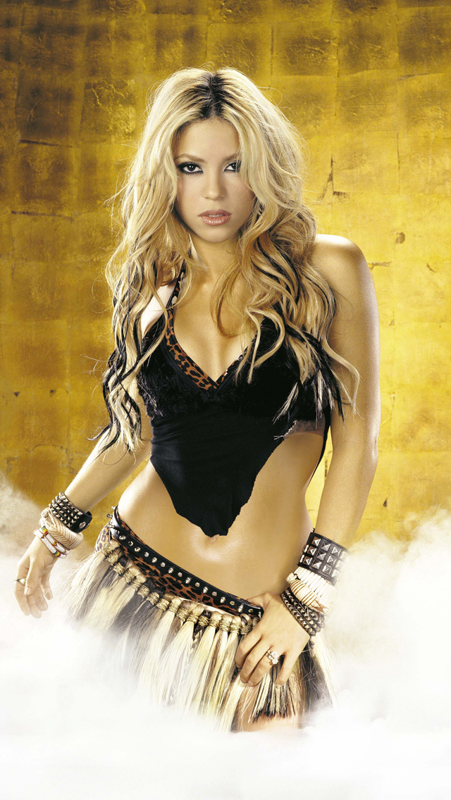 Shakira 3Wallpapers IPhone 5
