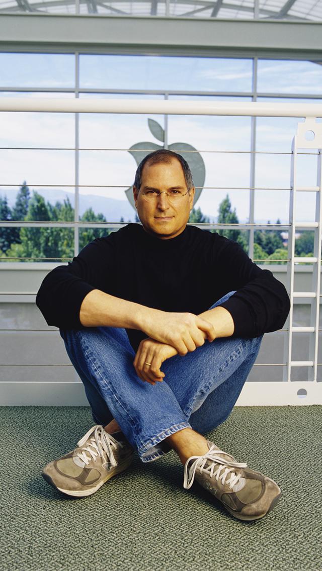 Steve Jobs in Apple 3Wallpapers iPhone 5 Steve Jobs in Apple