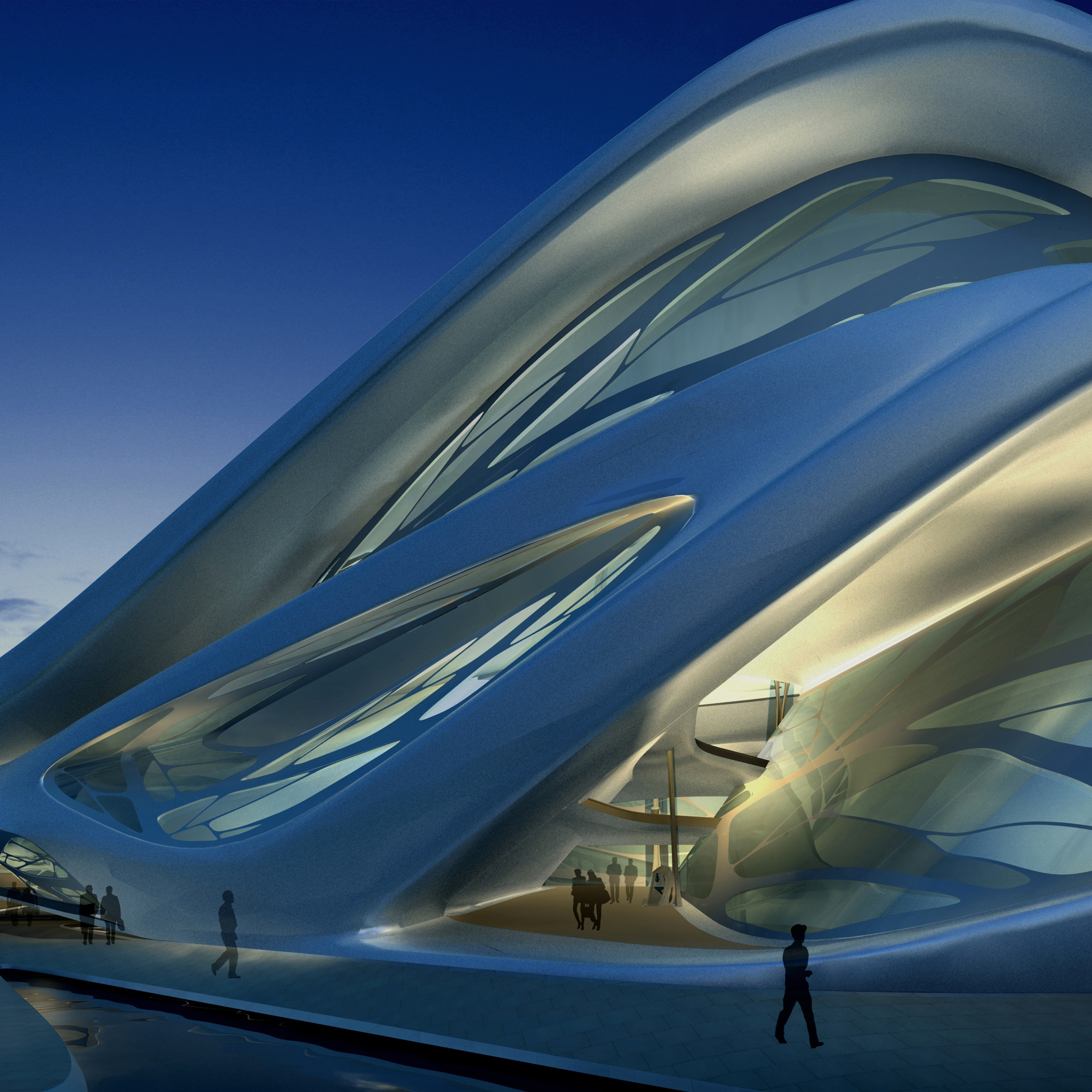 Abu Dhabi Arts Center 3Wallpapers iPad Retina Abu Dhabi Arts Center   iPad Retina