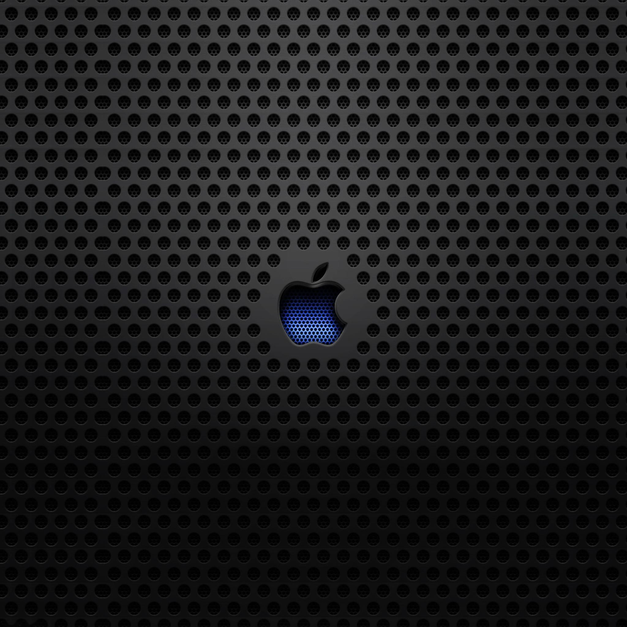 Apple Blur Logo 3Wallpapers iPad Retina Apple Blue Logo   iPad Retina