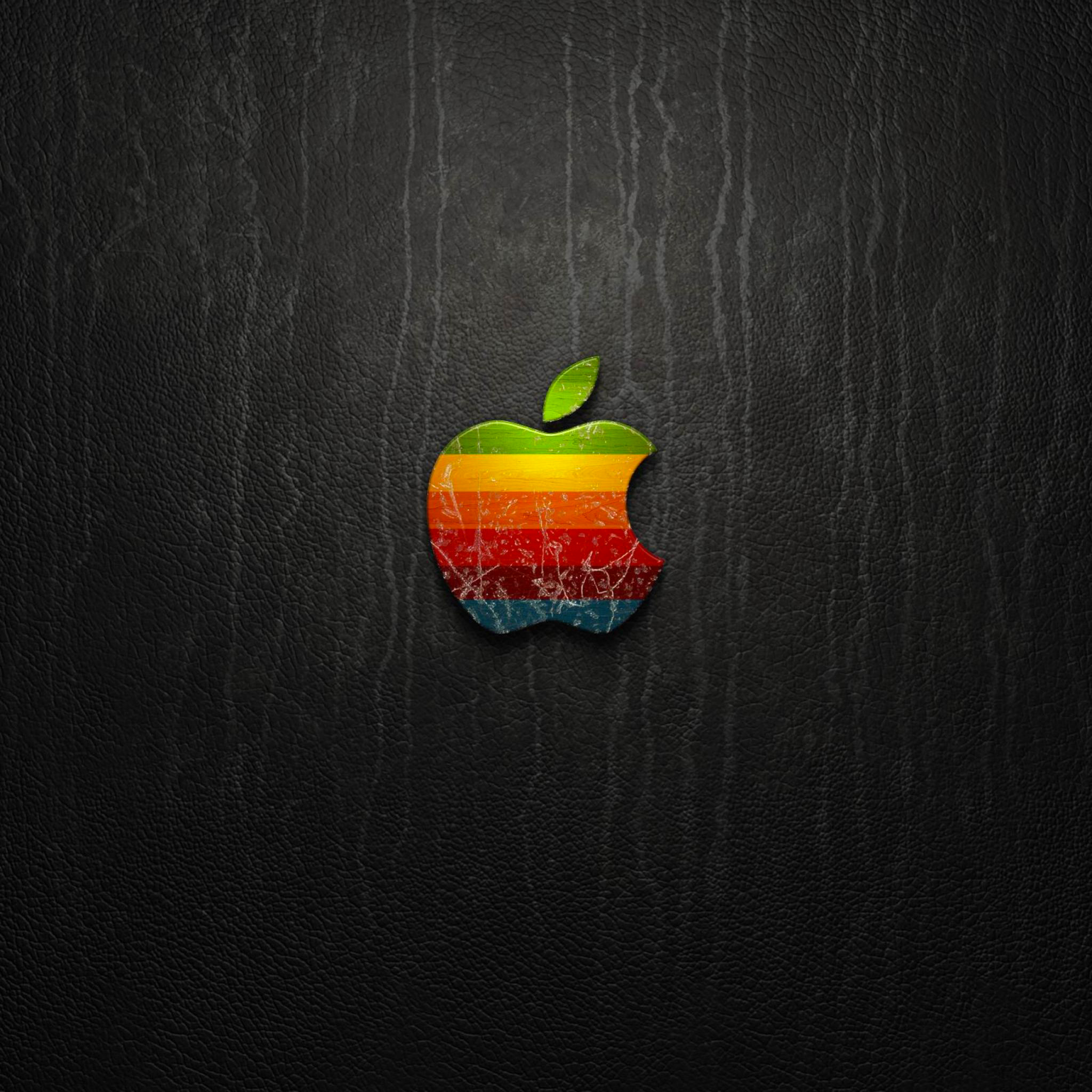 Apple Leather 3Wallpaper iPad Retina Apple Leather   iPad Retina