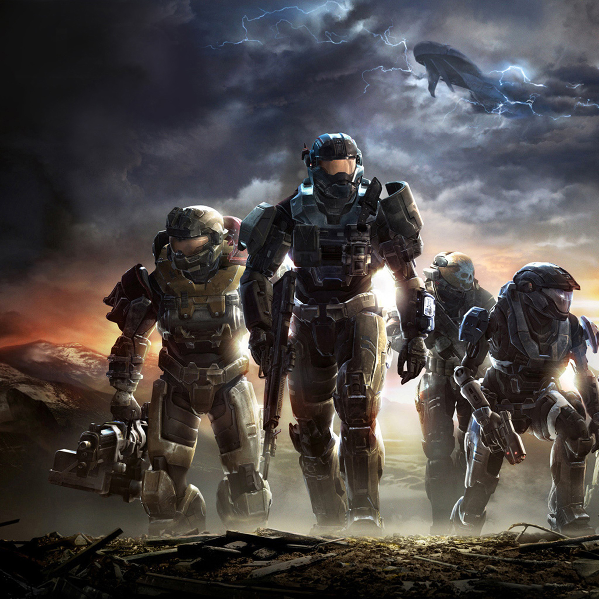 Halo Reach 3Wallpapers iPad Retina Halo Reach   iPad Retina
