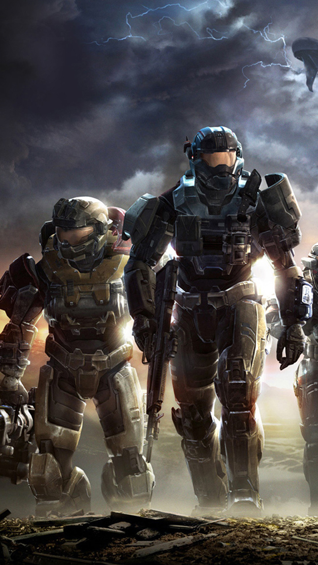 Halo Reach 3Wallpapers iPhone 5 Halo Reach