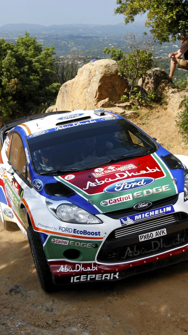 Rally Ford 3Wallpapers iPhone 5 Rally Ford