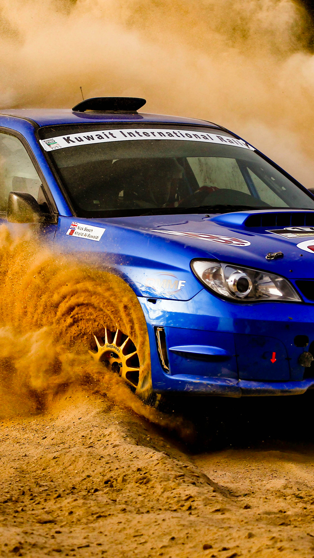 Rally-Subaru-3Wallpapers-iPhone 5