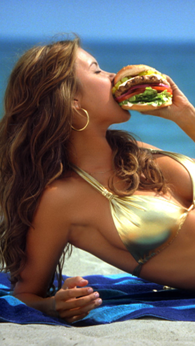 Sexy Burger 3Wallpapers iPhone 5 Sexy Burger