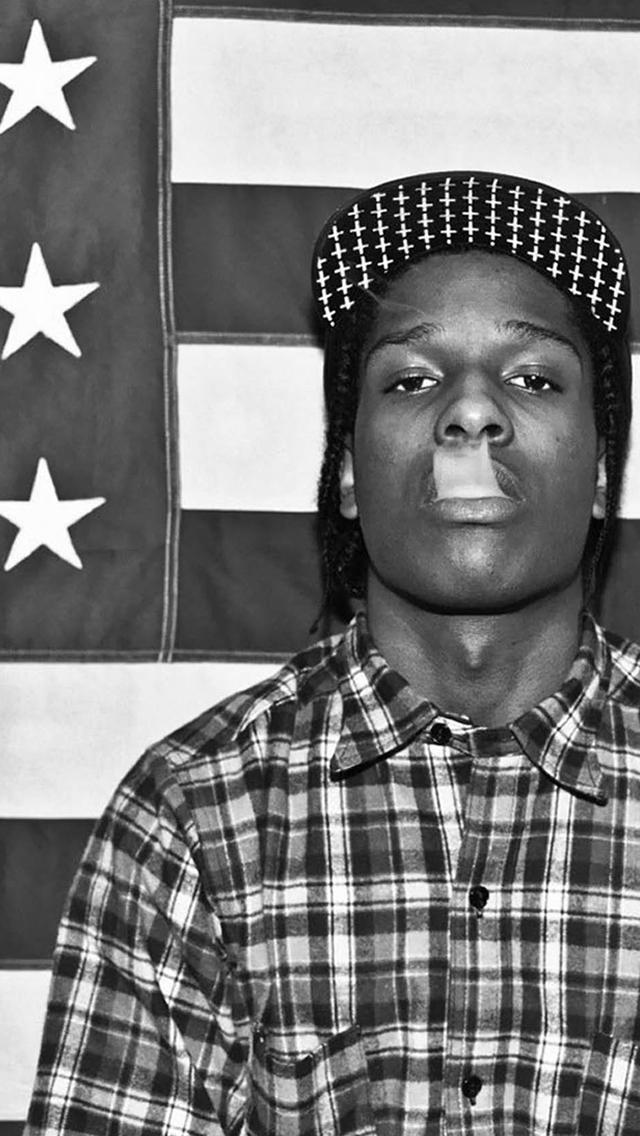 ASAP Rocky 3Wallpapers iPhone 5 A$AP Rocky