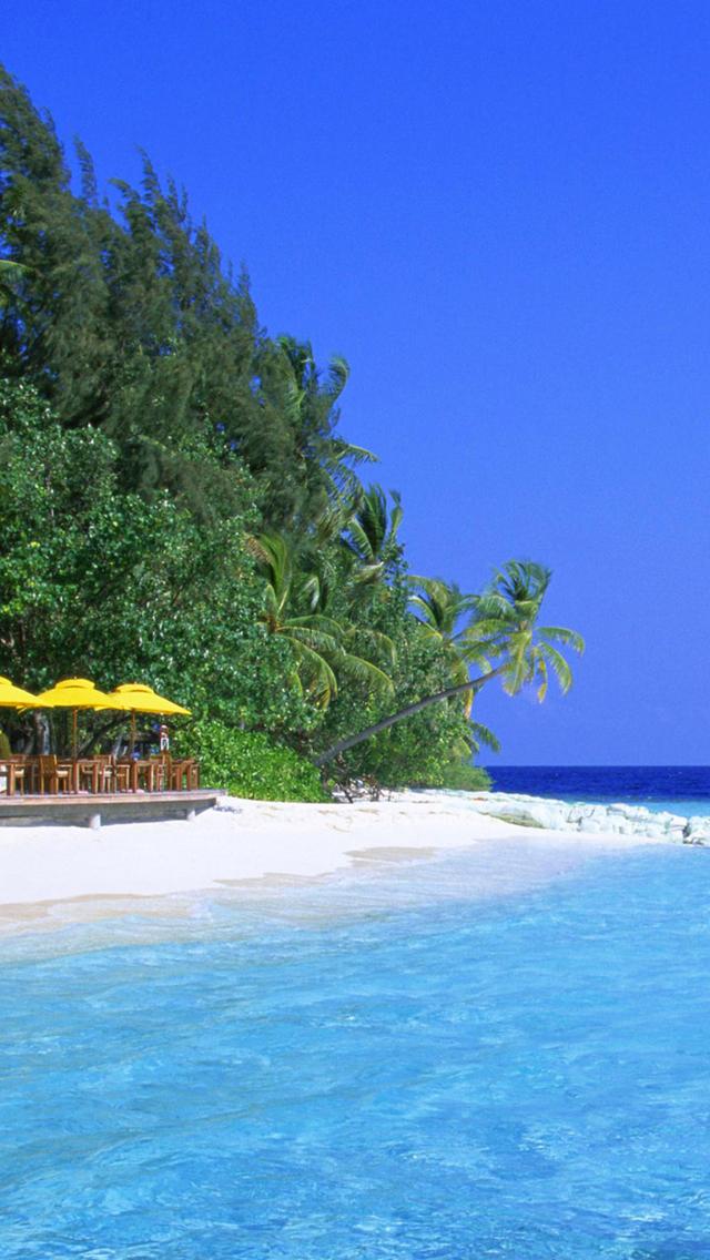Beach-Island-Sea-3Wallpapers-iPhone-5