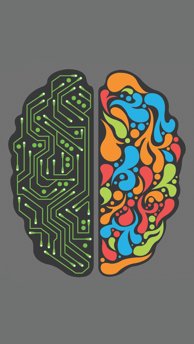 Brain 2 0 wallpaper for iphone x 8 7 6 free download - 2 0 wallpaper ...