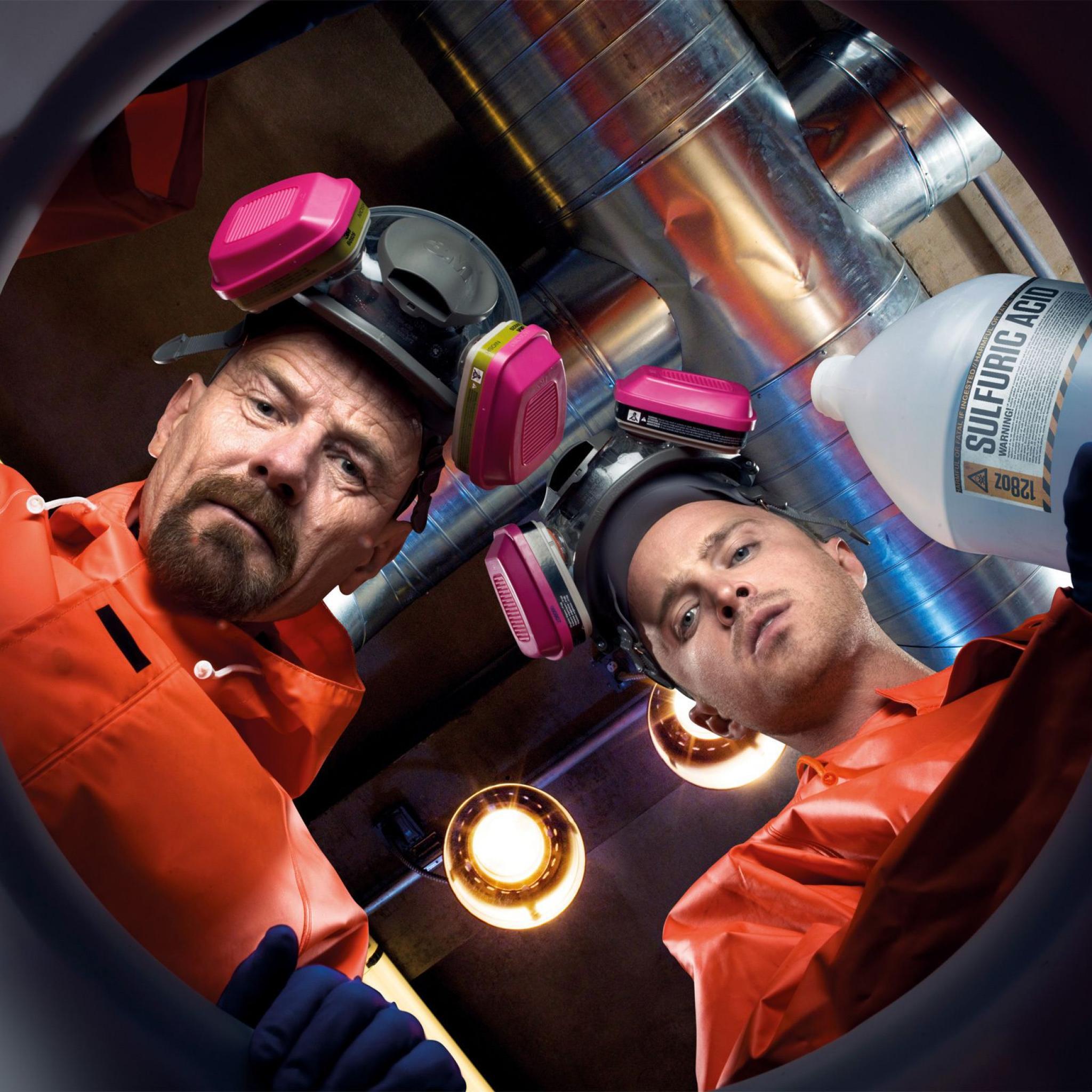 Breaking Bad Season 2 TV Show Wallpaper 2048x2048 Breaking Bad Season 2   iPad Retina