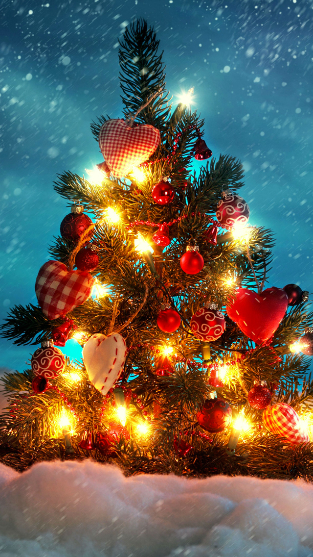Christmas Tree 3Wallpapers iPhone 5 Christmas Tree