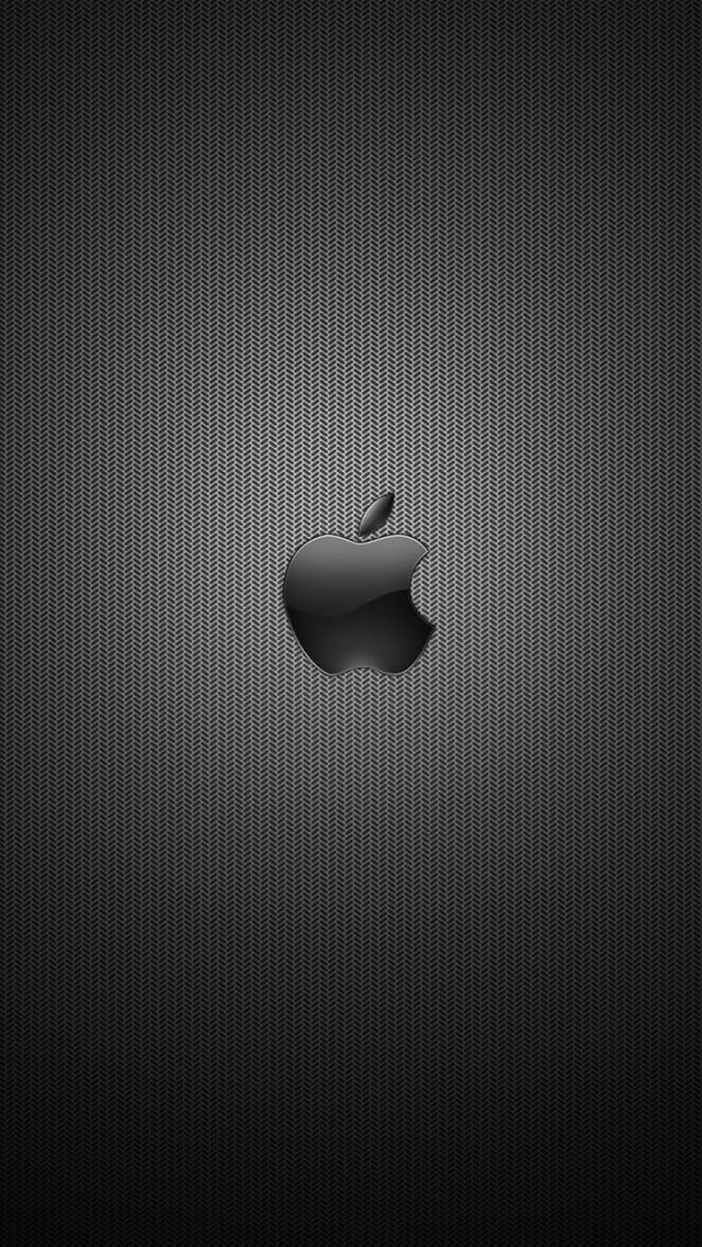 Dark Apple Logo 3Wallpapers iPhone 5 Dark Apple Logo