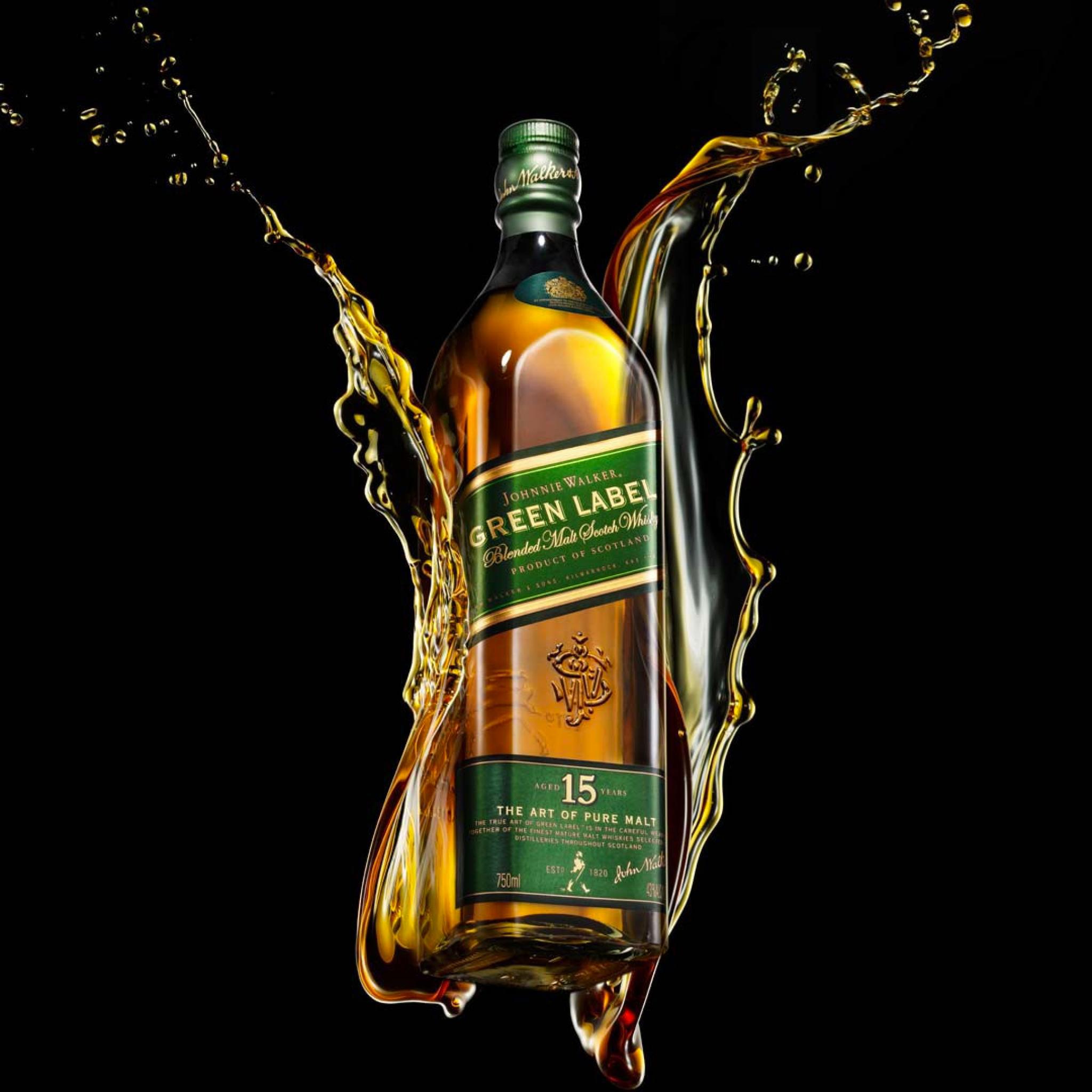 Green-Alcohol-Drink-Johnnie-Walker-3Wallpapers-iPad-Retina