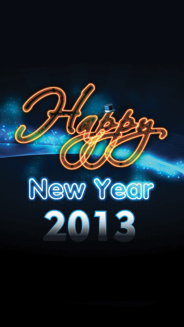 Happy-New-Year-2013-3Wallpapers-iPhone-5