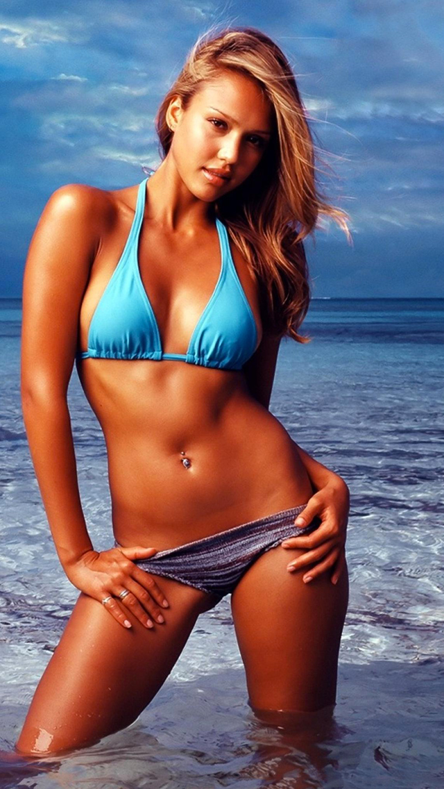 Jessica Alba 3Wallpapers iPhone 5 Jessica Alba