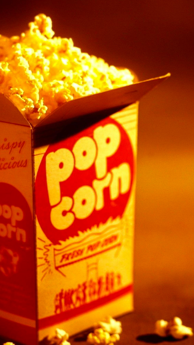 Pop Corn Wallpaper For Iphone X 8 7 6 Free Download On