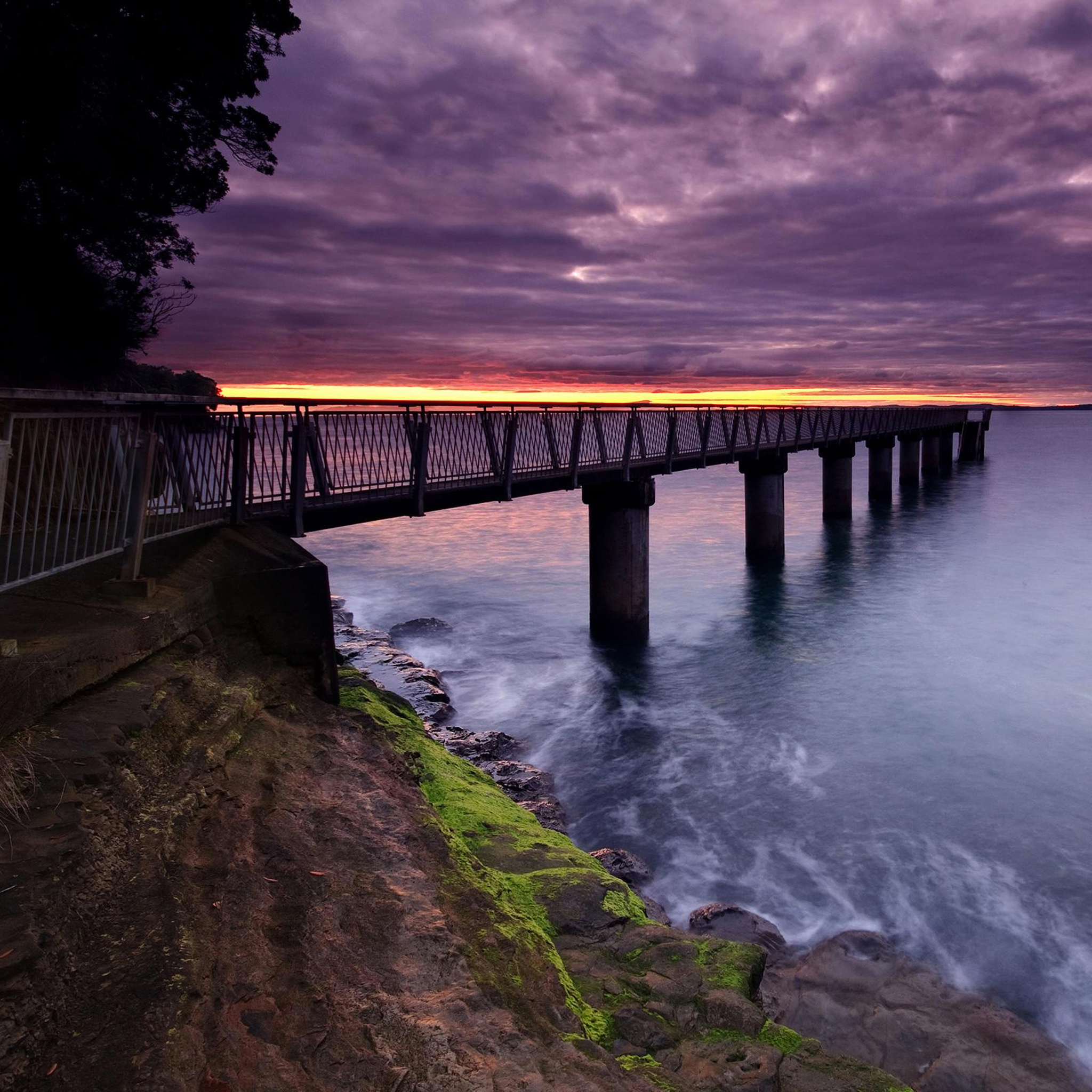 Purple-Bridge-3Wallpapers-iPad-Retina