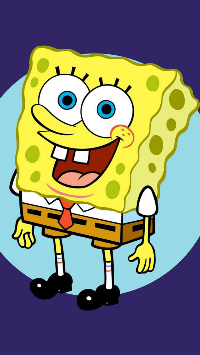 Sponge-Bob-3Wallpapers-iPhone-5