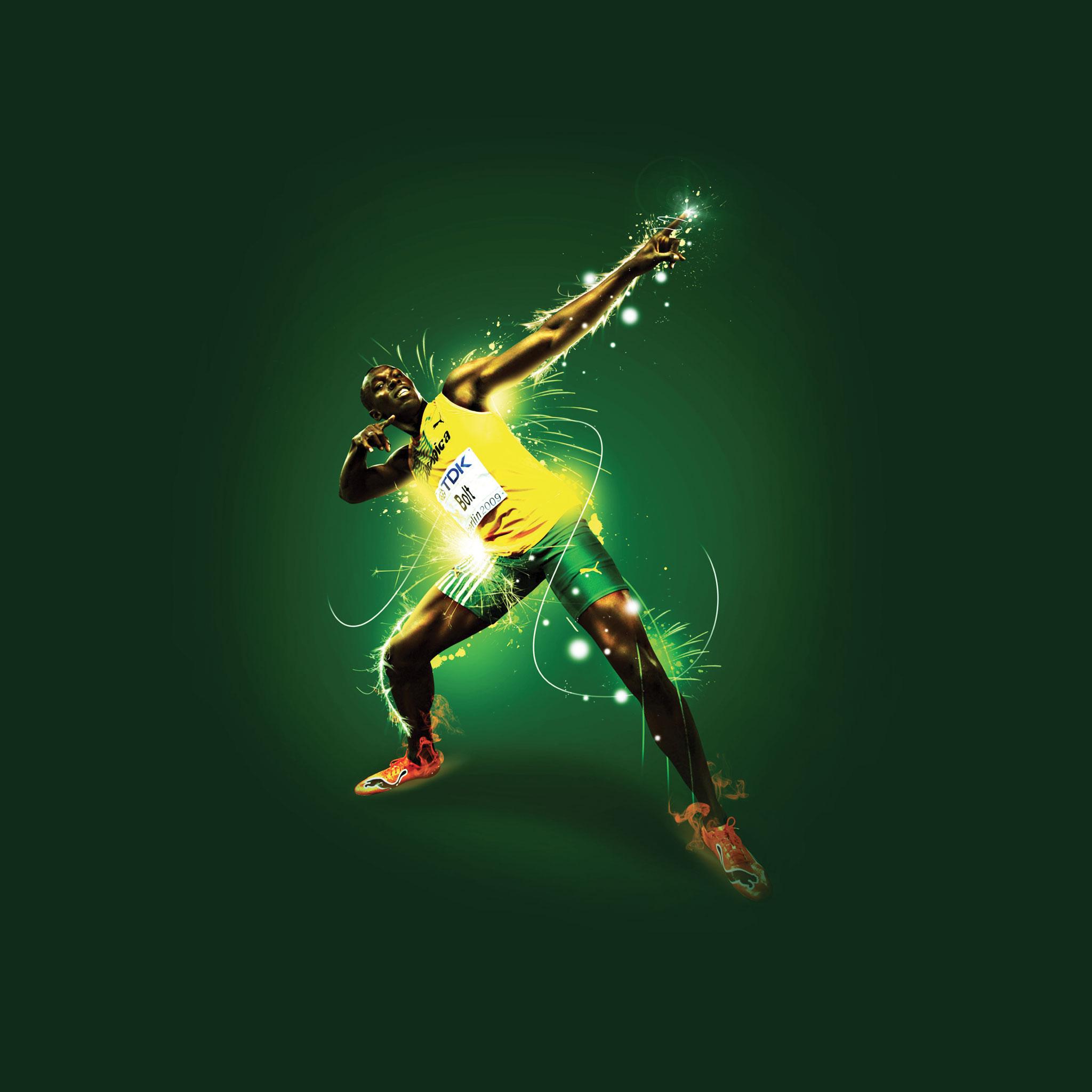Usain Bolt 3Wallpapers iPad Retina Usain Bolt   iPad Retina