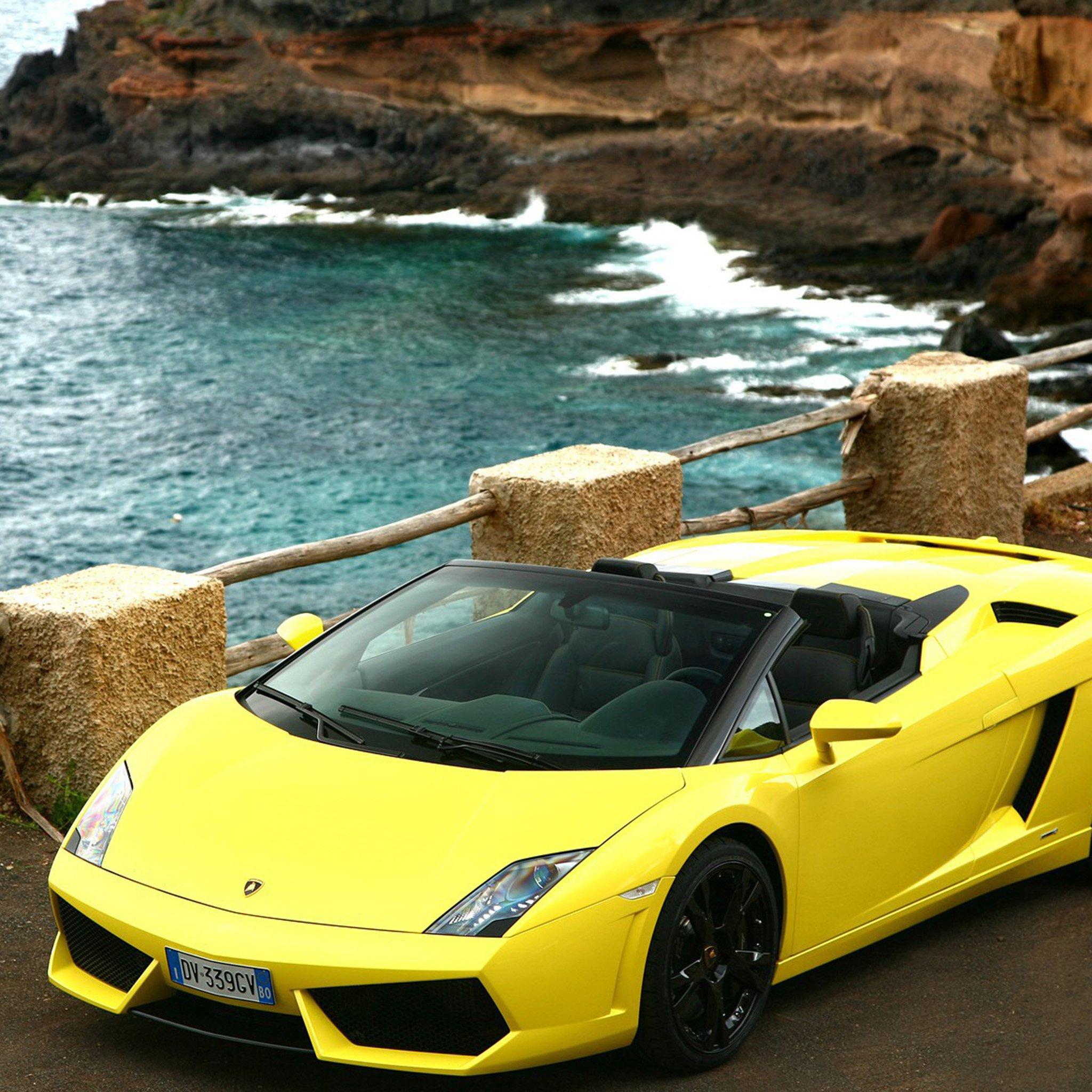2009-Lamborghini-Gallardo-Lp560-3Wallpapers iPad Retina