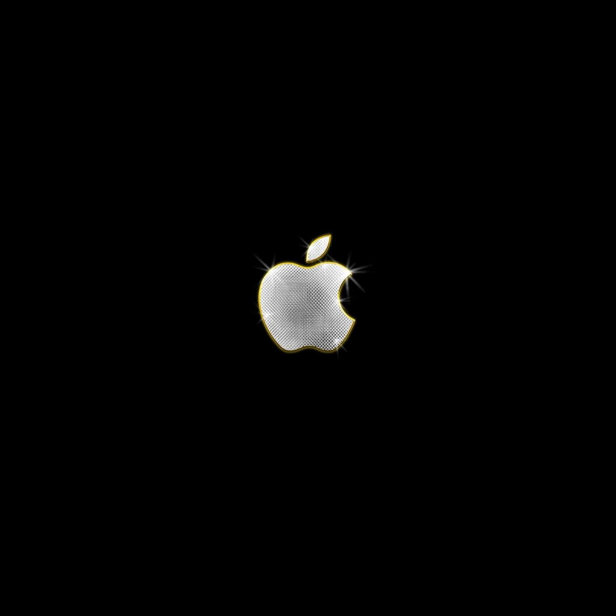 Apple Computer 3Wallpapers iPad Retina Apple Diamonds   iPad Retina