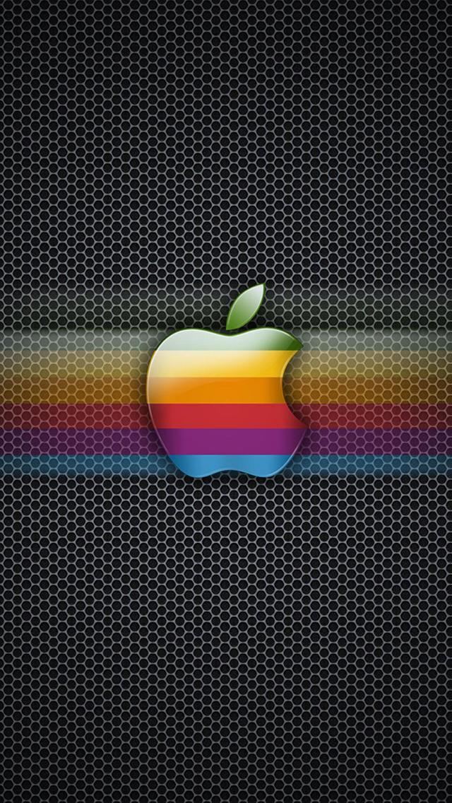Apple Logo 3Wallpapers iPhone 5 Apple Effect