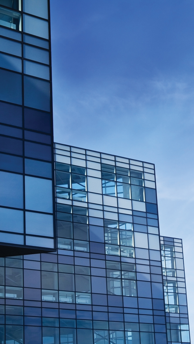 Buildings-Blue-Skyscrapers-3Wallpapers-iPhone-5