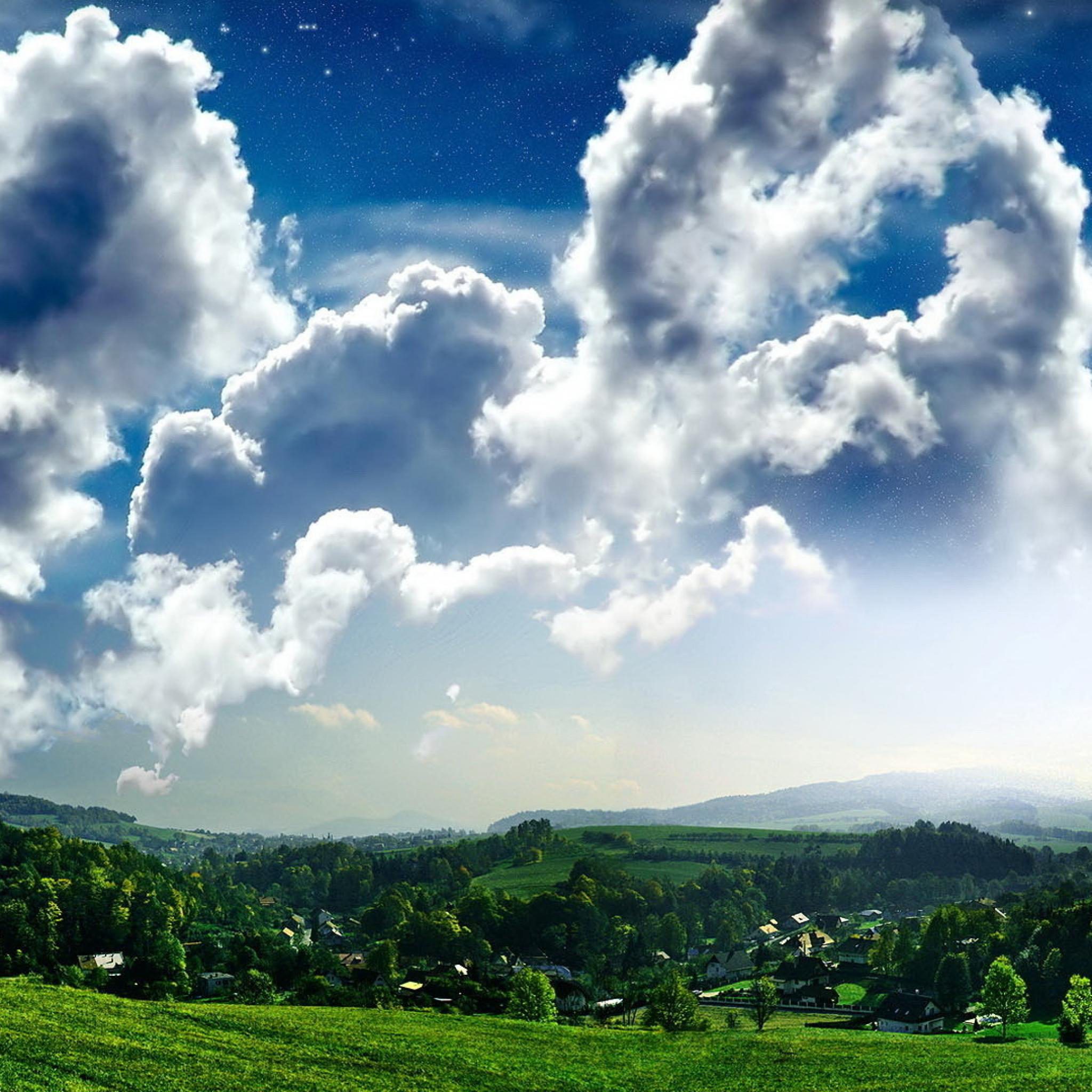 Cloud-Hill-Forest-Sky-Nature-3Wallpapers-iPad-Retina