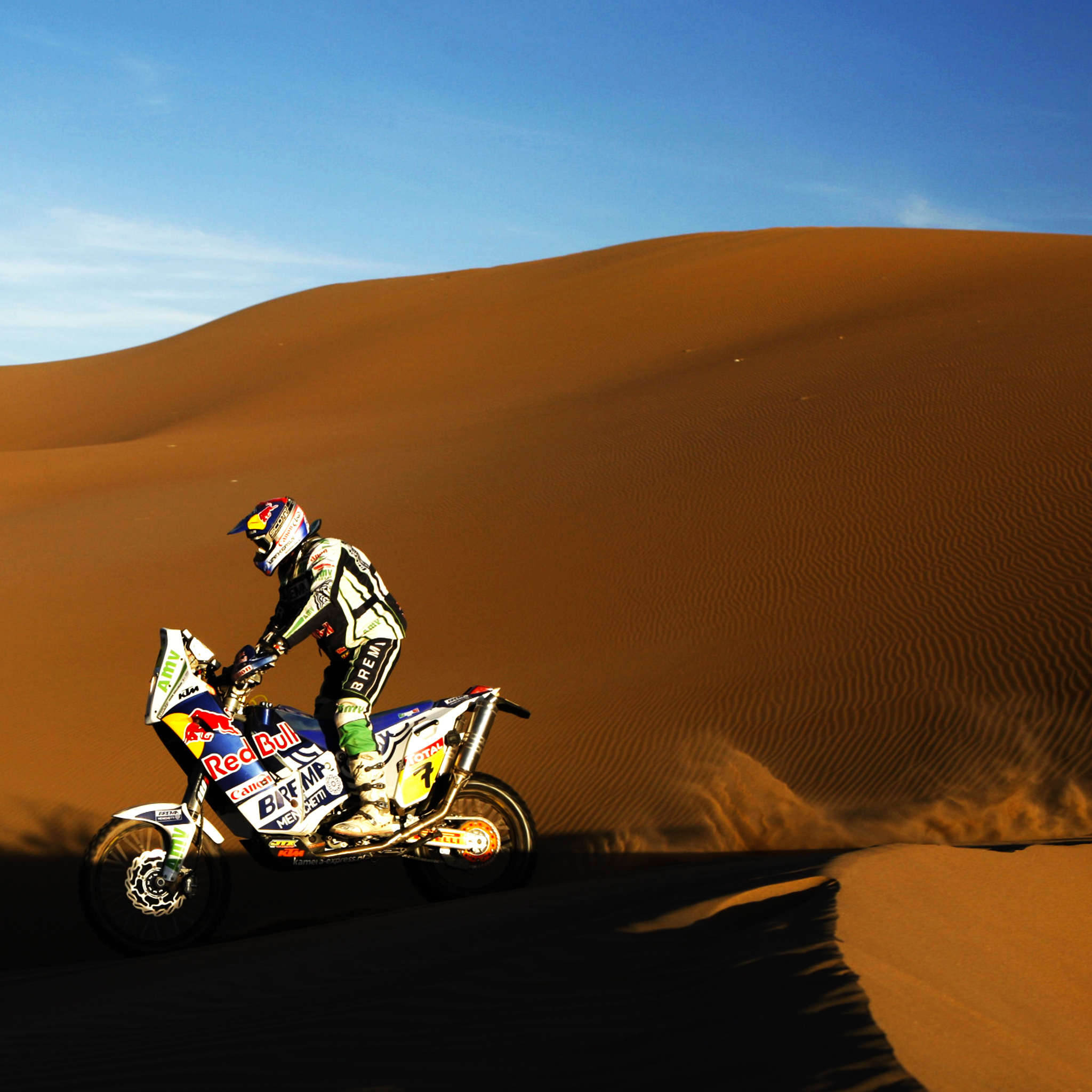 Dakar Cross 3Wallpapers iPad Retina Dakar Cross   iPad Retina