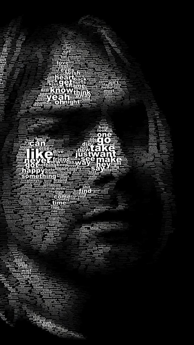 Kurt Cobain 3Wallpapers iPhone 5 Kurt Cobain
