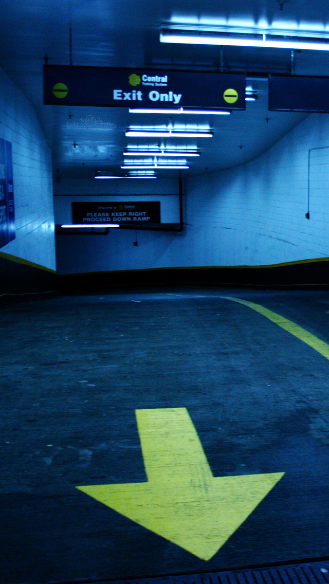 Parking-Entrance-3Wallpapers-iPhone-5