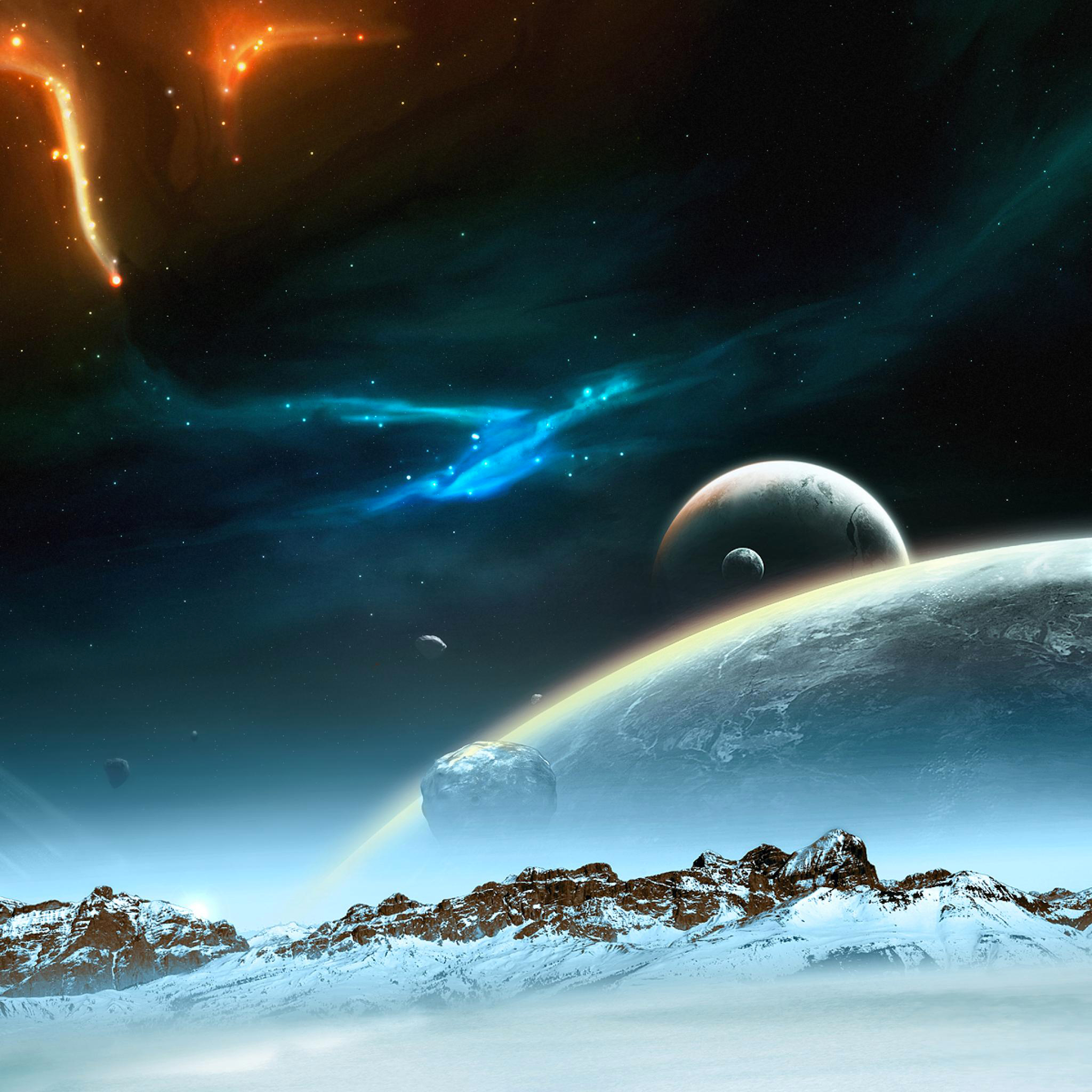 Space-in-mountain-3Wallpapers-iPad-Retina