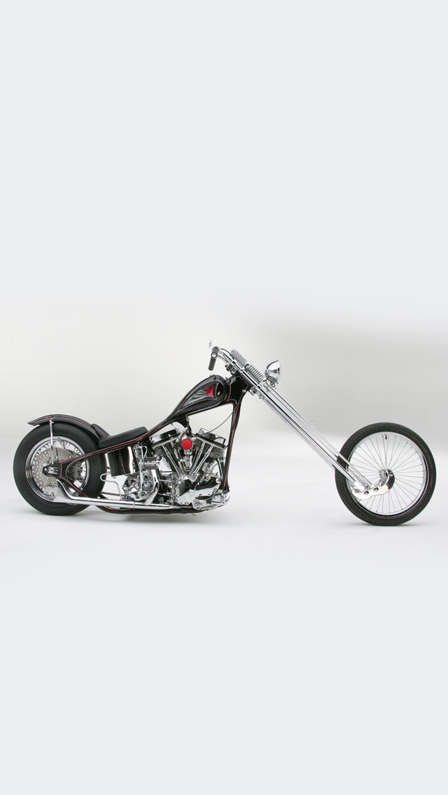 Sugar Bears Harley Davidson Chopper 3Wallpapers iPhone 5 Sugar Bears Harley Davidson Chopper