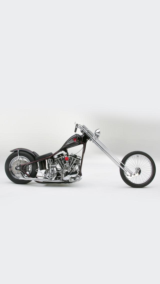 Sugar-Bears-Harley-Davidson-Chopper-3Wallpapers-iPhone-5