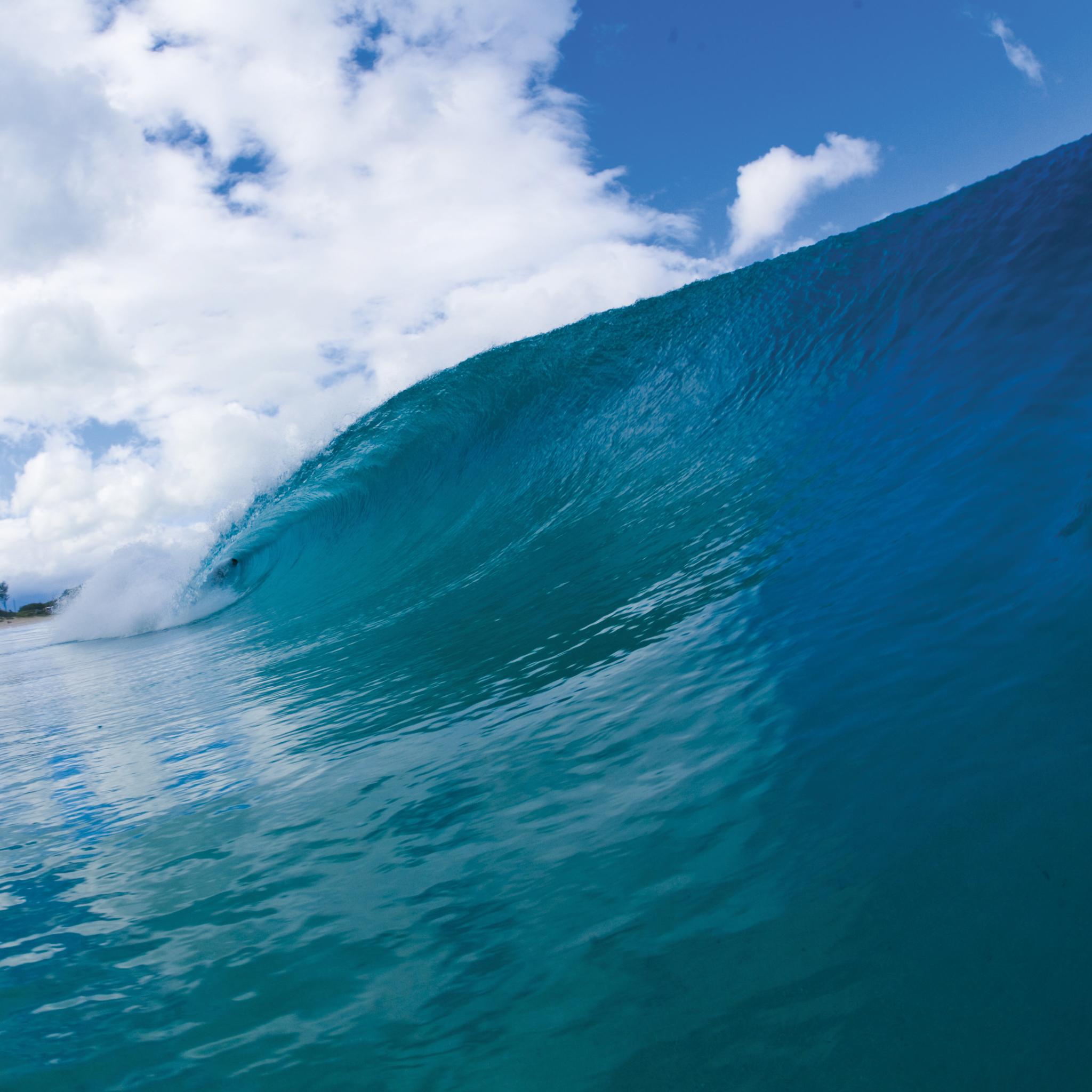 Surfer in Wave 3Wallpapers iPad Retina Surfer in Wave   iPad Retina