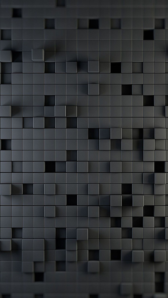 3d-Cube-Wall-Design-3Wallpapers-iPhone-5