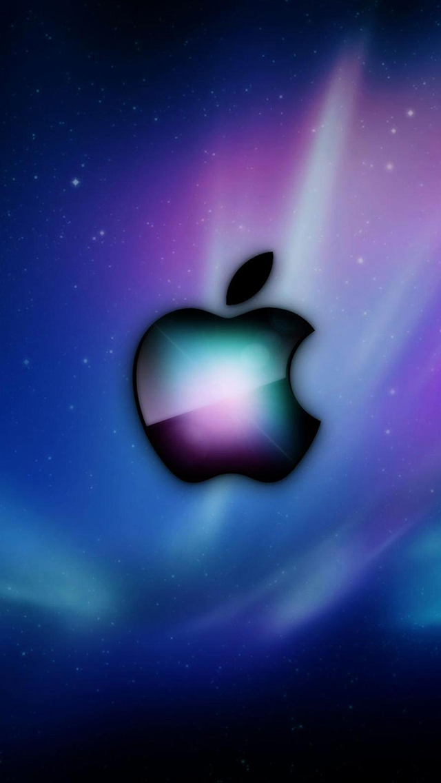 AppleColorful-Aurora-3Wallpapers-iPhone-5