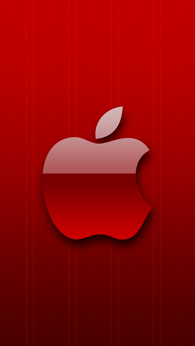 Red-Apple-3Wallpapers-iPhone-5