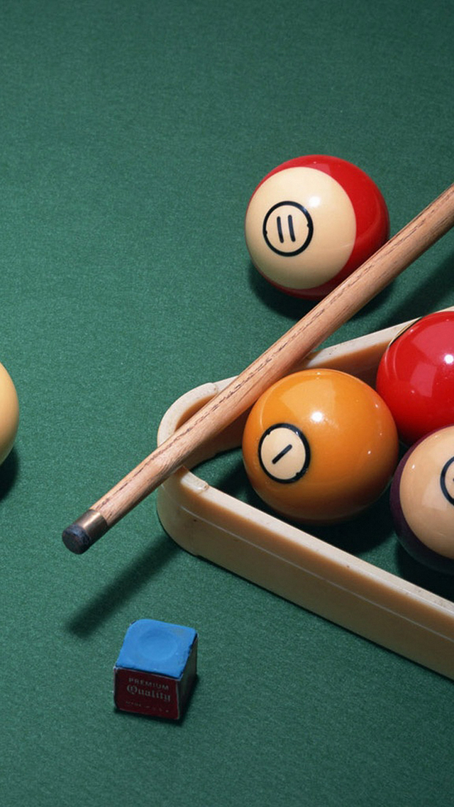 Billard 3Wallpapers iPhone 5 Billard
