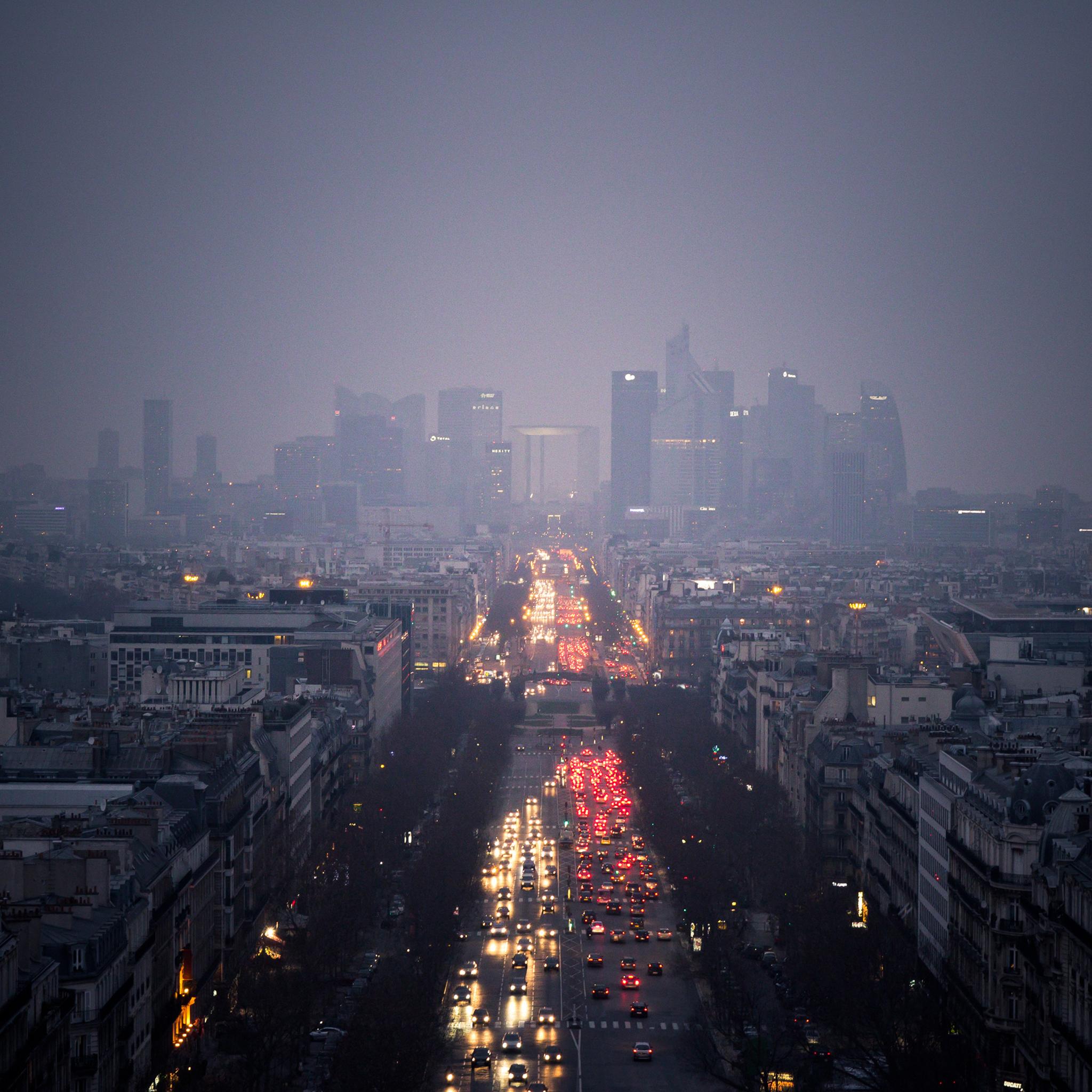 City Fog 3Wallpapers iPad Retina City Fog   iPad Retina