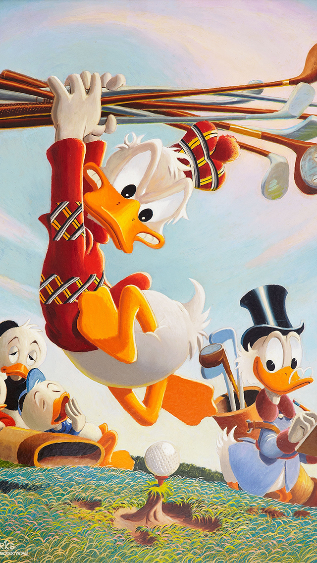 Donald Duck Walt 3Wallpapers iPhone 5 Donald Duck Walt
