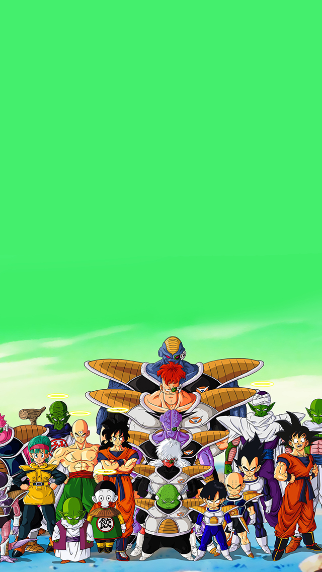 pics photos dragon ball z iphone 5 wallpaper