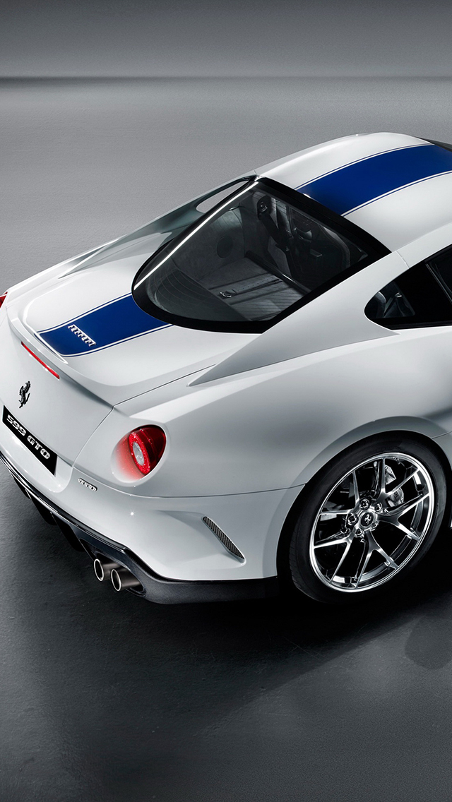 Ferrari gto 599 3Wallpapers iPhone 5 Ferrari GTO 599