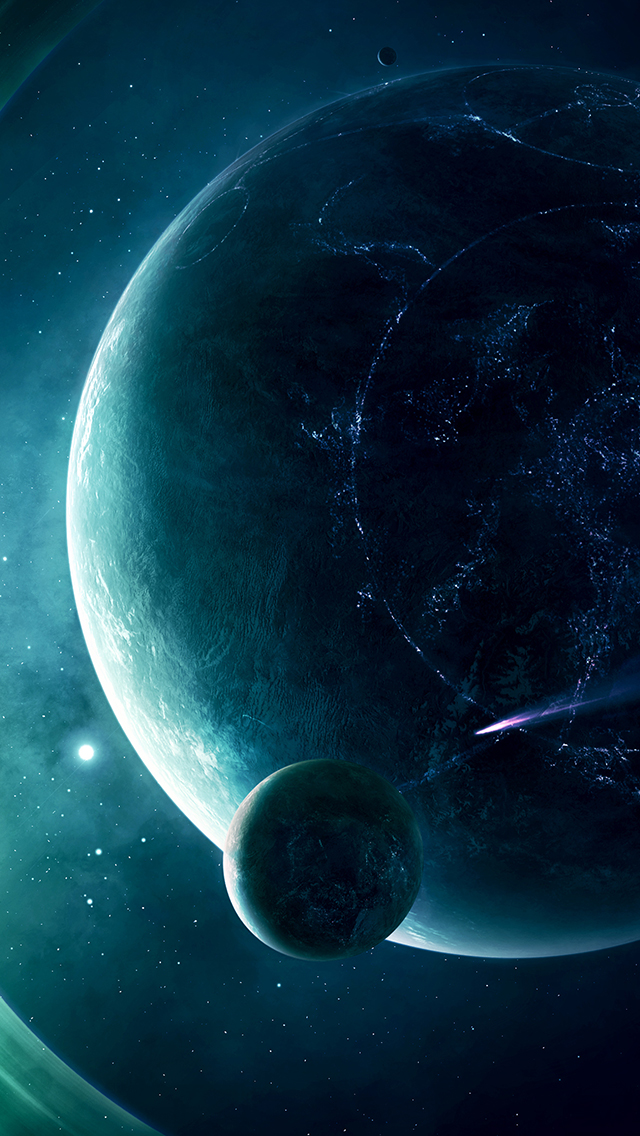 Halo Planet 3Wallpapers IPhone 5