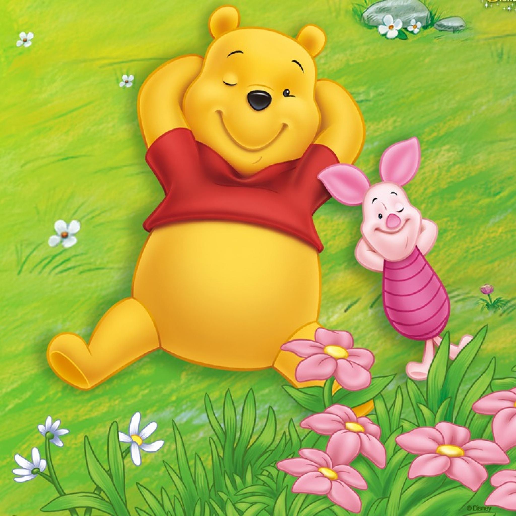 Winnie l 39 ourson ipad retina wallpaper for iphone x 8 7 - Rideau winnie l ourson castorama ...