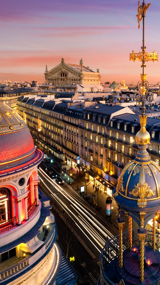 Grand Opera Paris 3Wallpapers iPhone 5 Grand Opera Paris