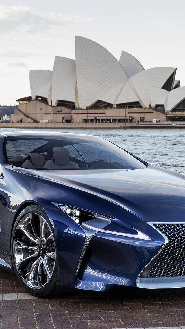 Lexus Concept Car 3Wallpapers iPhone 5 Lexus Concept Car