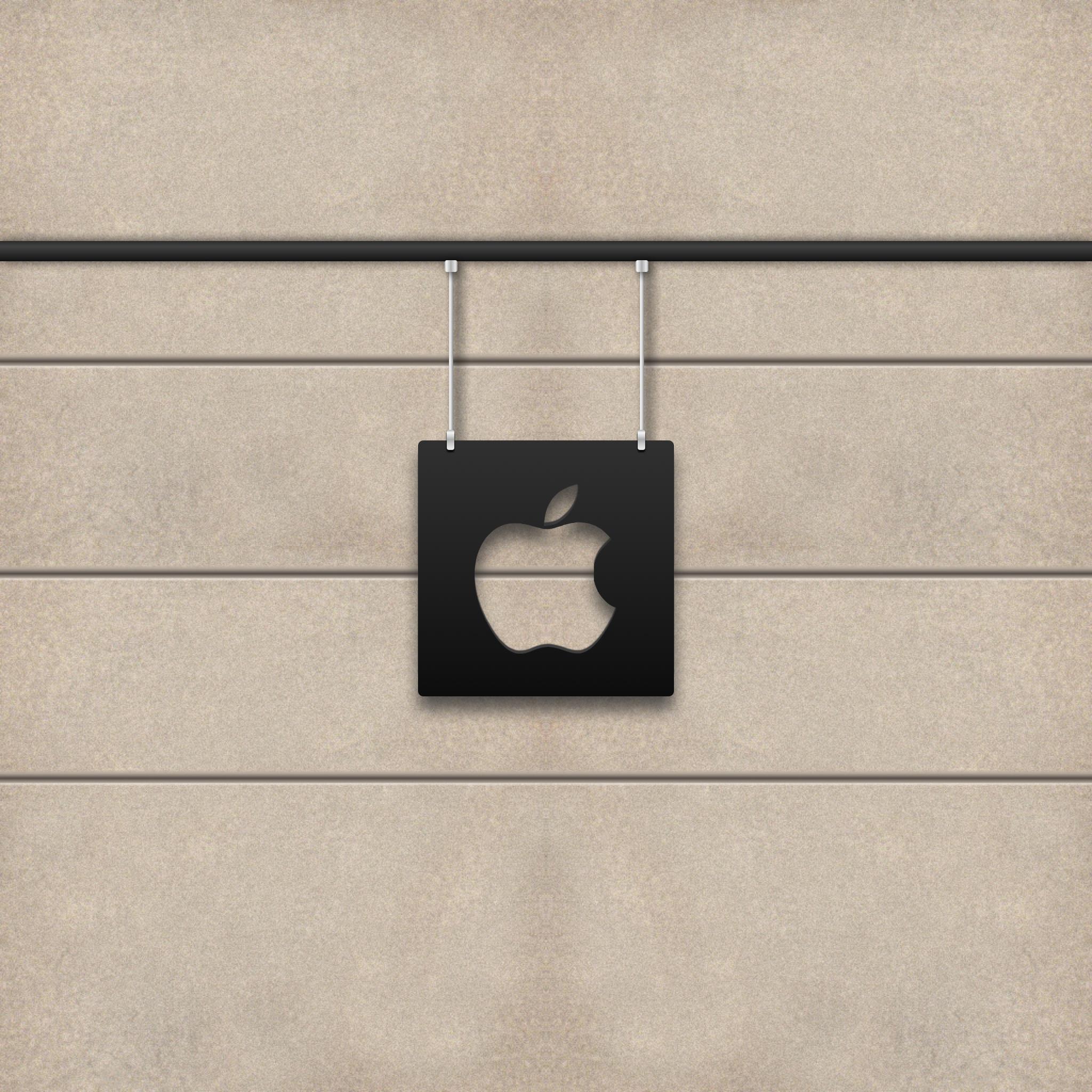 Apple Wall 3Wallpapers Ipad Retina Apple Wall   iPad Retina