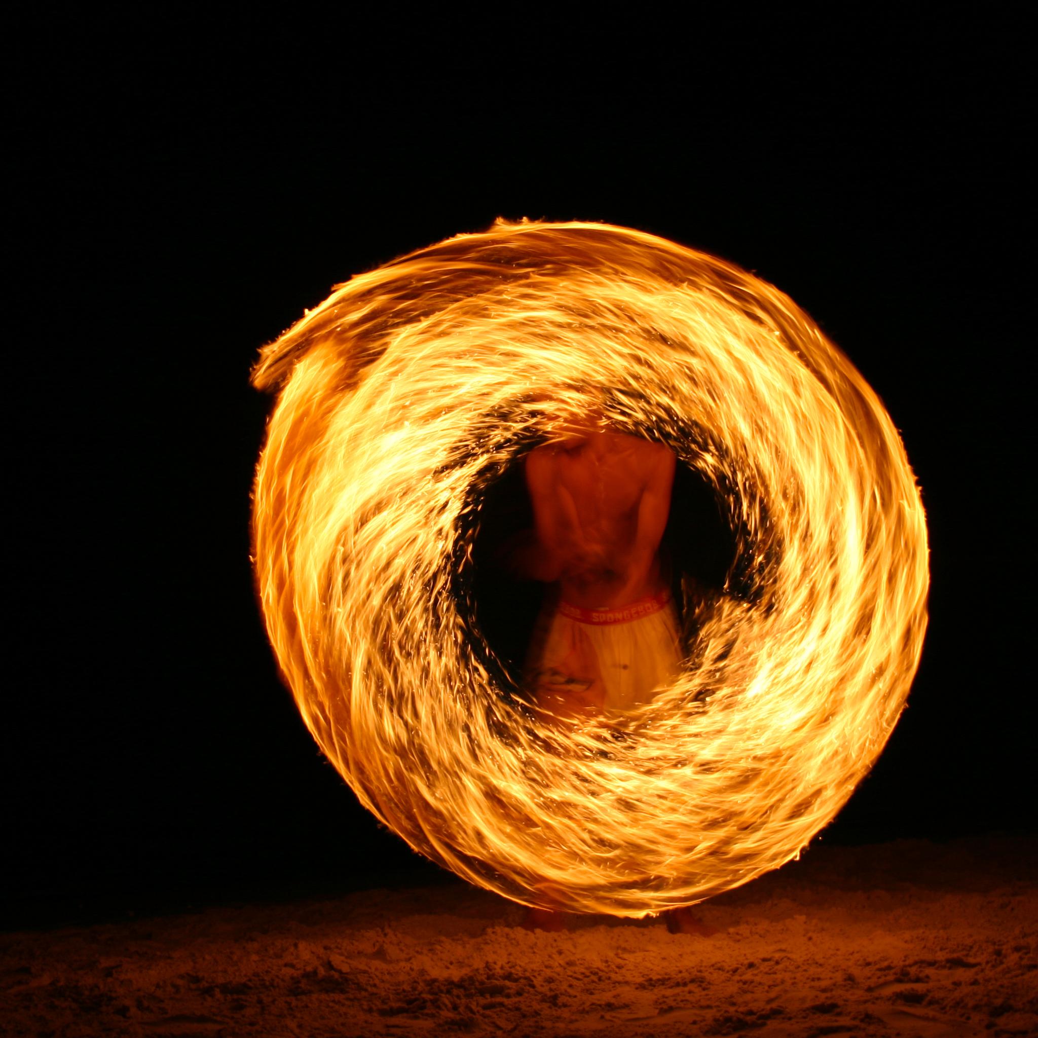 Fire dancer on Samet Island 3Wallpapers iPad Retina Fire Dancer on Samet Island   iPad Retina